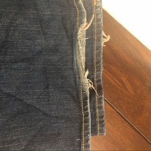 Lucky Brand Jeans - Lucky Brand Wide Leg Denim Jeans